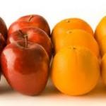 Mere vs Portocale